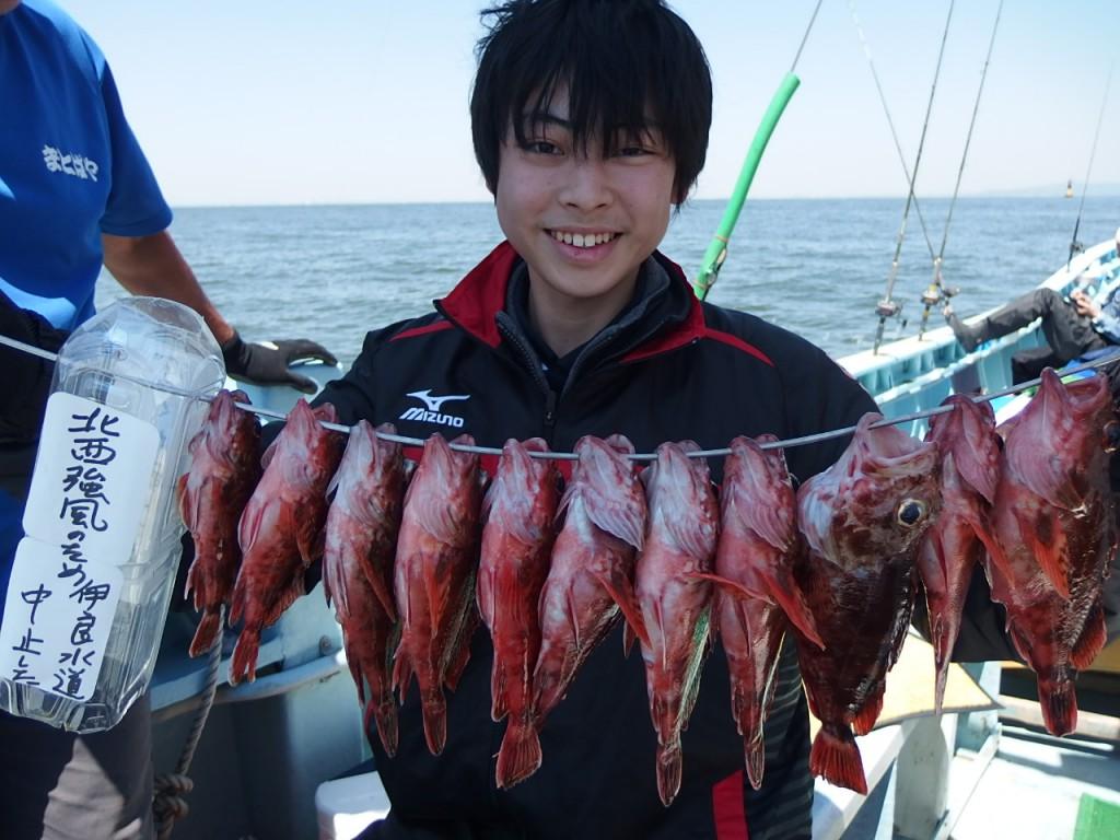 楽しく釣れました!