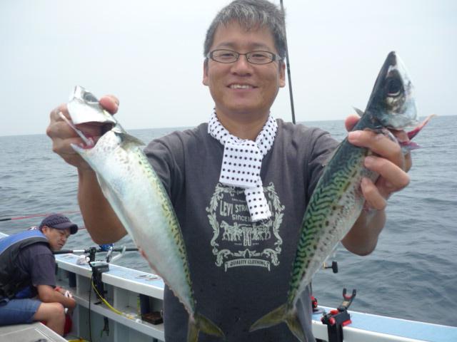 サバが釣れれば嬉しいっ!