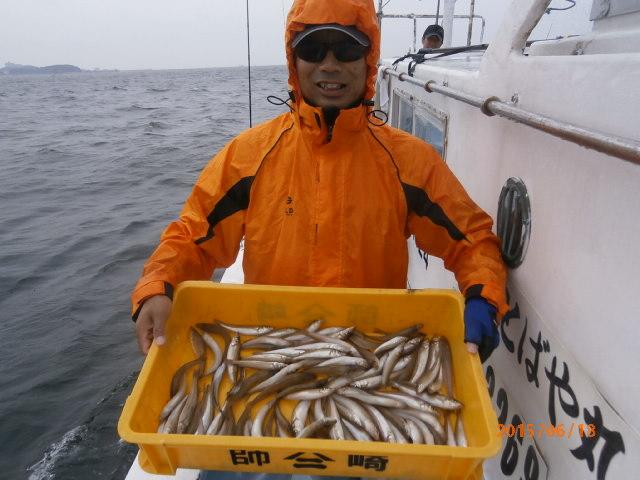 今日も大漁!