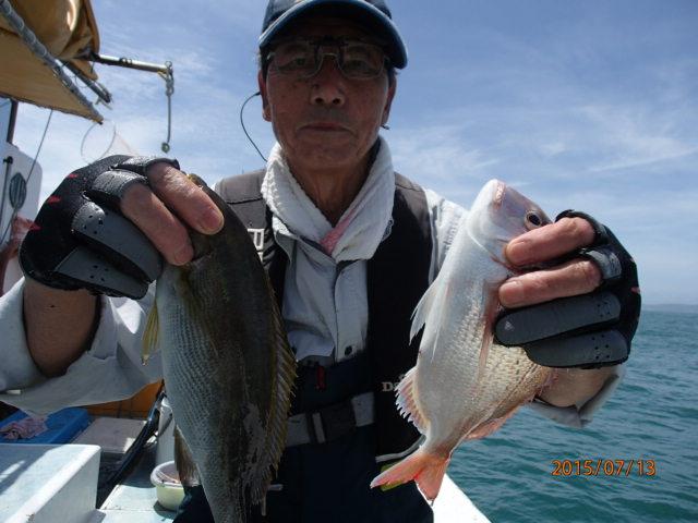 チダイは大山沖の名物です!