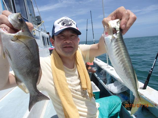 アジは良く釣れて楽しかった!