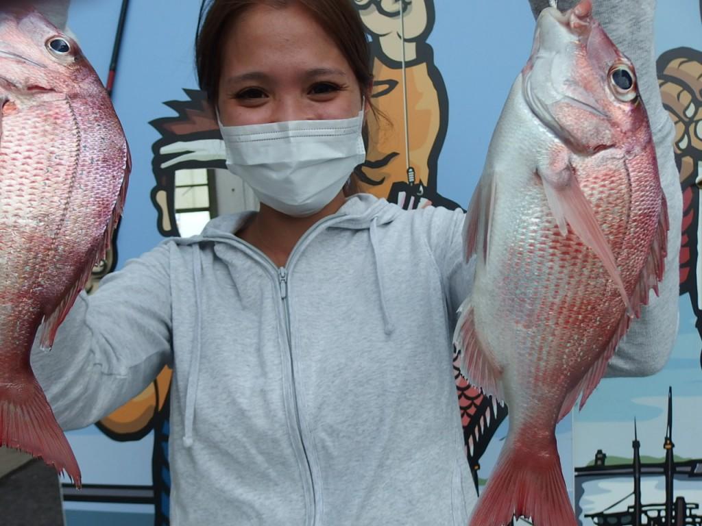 ラストは可愛い釣りガ-ルで〆!