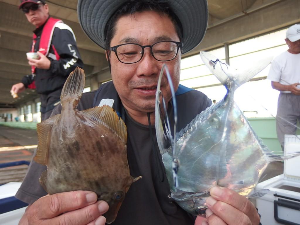 イトヒキアジはウタセ五目で良く釣れます!