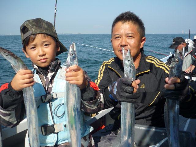 今泉さん親子!可愛いお子様も釣りまくり!