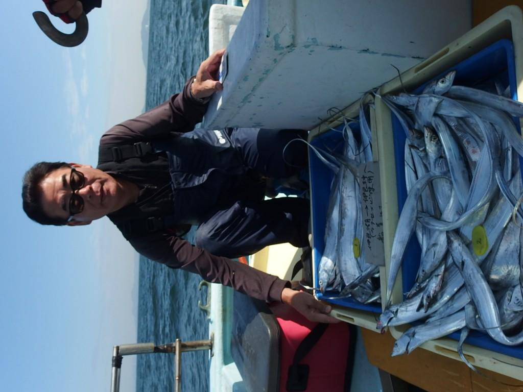 タチウオは釣れ過ぎ!