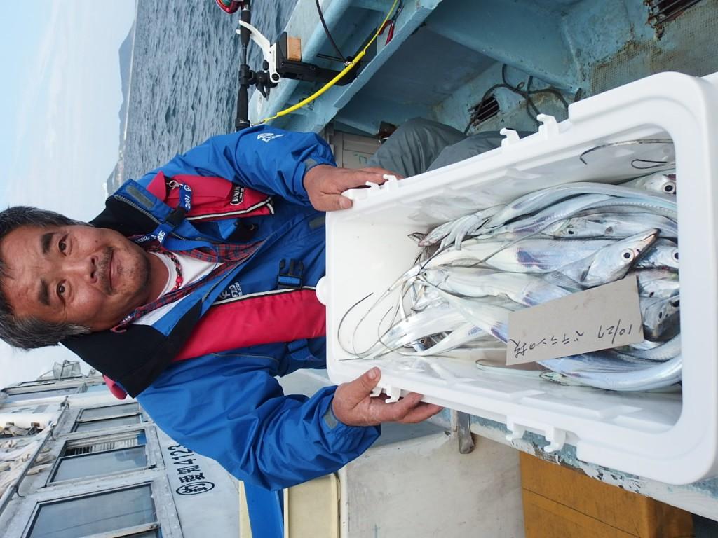 タチウオは普通に釣れます!(笑)