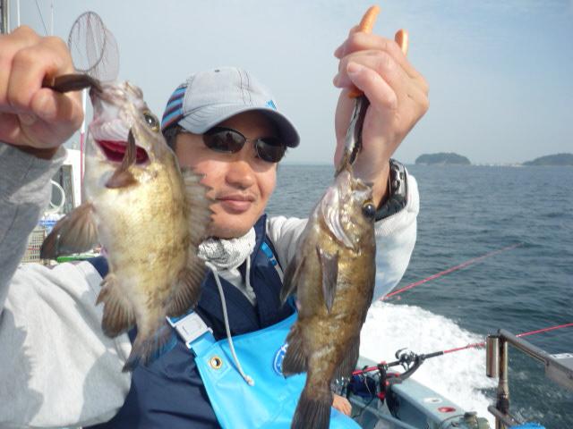 2匹も釣ったらご満悦っ!