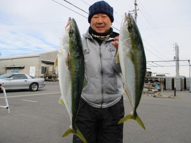 池戸さんもイカ釣り筋肉を使って前回に続き今日も2本獲り!